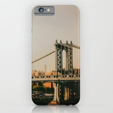 New York City Sunset and the Manhattan Bridge iPhone 6s Slim Case