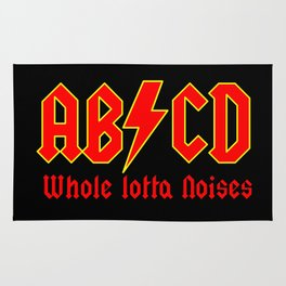 ABC, a heavy metal parody Rug