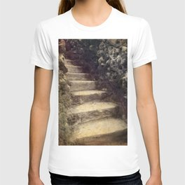 Spooky Stairs in Sintra T-shirt