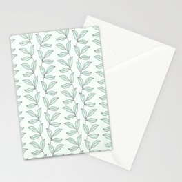 Green Botanical Vibe / Pattern Stationery Cards