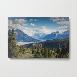 Mountain Landscape # sky Metal Print