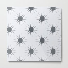 sunshine grey Metal Print