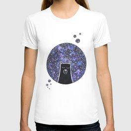 Bear sleeping in the moon T-shirt
