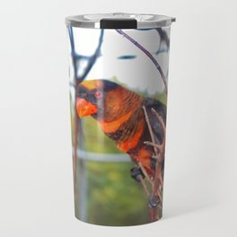 Dusky Lory Travel Mug