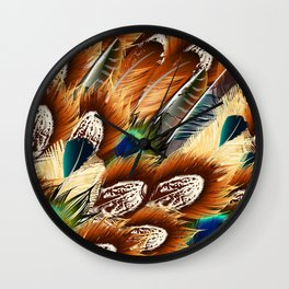 So feathers fashion Wall Clock