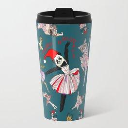 Hipster Holiday Ballerinas Travel Mug