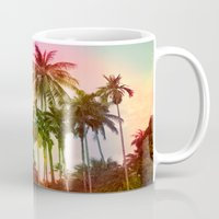 tropical Mugs featuring tropical by mark ashkenazi