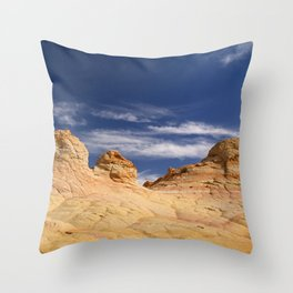 The Coyote Buttes Throw Pillow