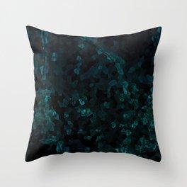 Stone Turquoise pattern Throw Pillow