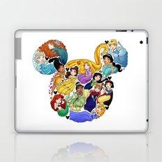 Princess Mickey Ears Laptop & iPad Skin