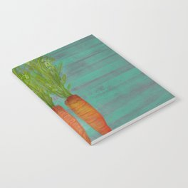 Carrots Upright Notebook