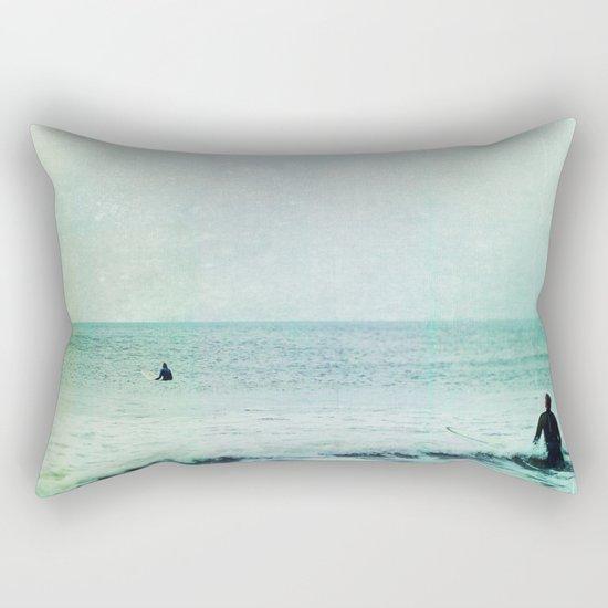 Creating Voids Rectangular Pillow