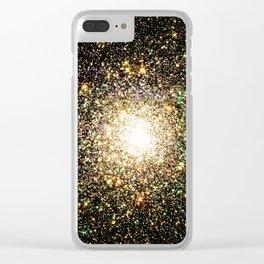 Galaxy & Space Stuff Clear iPhone Case