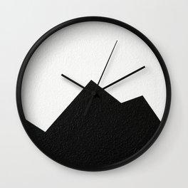 Mountains 1 Wall Clock