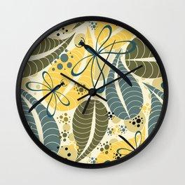 Fall Is Coming Wall Clock
