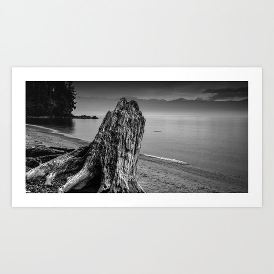 Considering the Waves Art Print