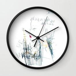 Mohawk Fantasy Wall Clock