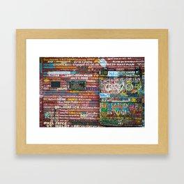 Anderson's Dock Framed Art Print