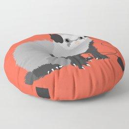 Music Loving Ferret Floor Pillow