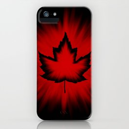 Cool Canada Souvenirs iPhone Case