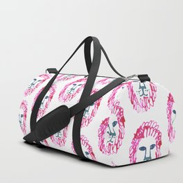 Lion Head Duffle Bag