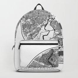 Philadelphia Map Universe Backpack