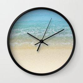 Blue Crush Wall Clock