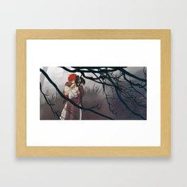 Thank you for everything, Kaoru-dono Framed Art Print