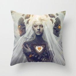 Oculus Divina Throw Pillow