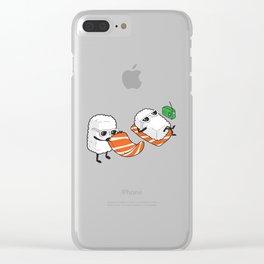 Sushi-sun Clear iPhone Case