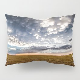After the Storm - Spacious Sky Over Field in West Texas Pillow Sham