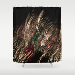 Electric Snowstorm 3 Shower Curtain