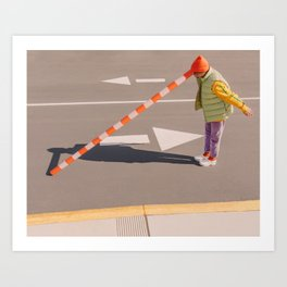 Brainwash | Colorful Portrait Art Print
