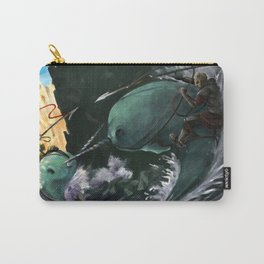 A Narwhal Joust for the Ages Carry-All Pouch