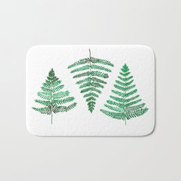 Fiordland Forest Ferns Bath Mat