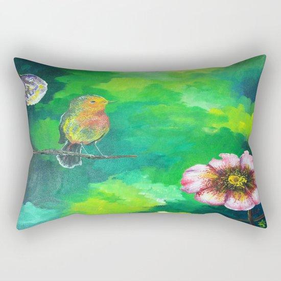 Birdy Dreams Rectangular Pillow