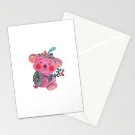 The Pink Koala Stationery Cards