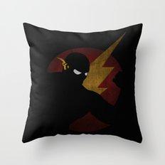 SuperHeroes Shadows : Flash Throw Pillow
