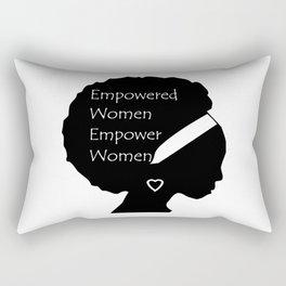 Empowered Women Empower Women - Afro Rectangular Pillow
