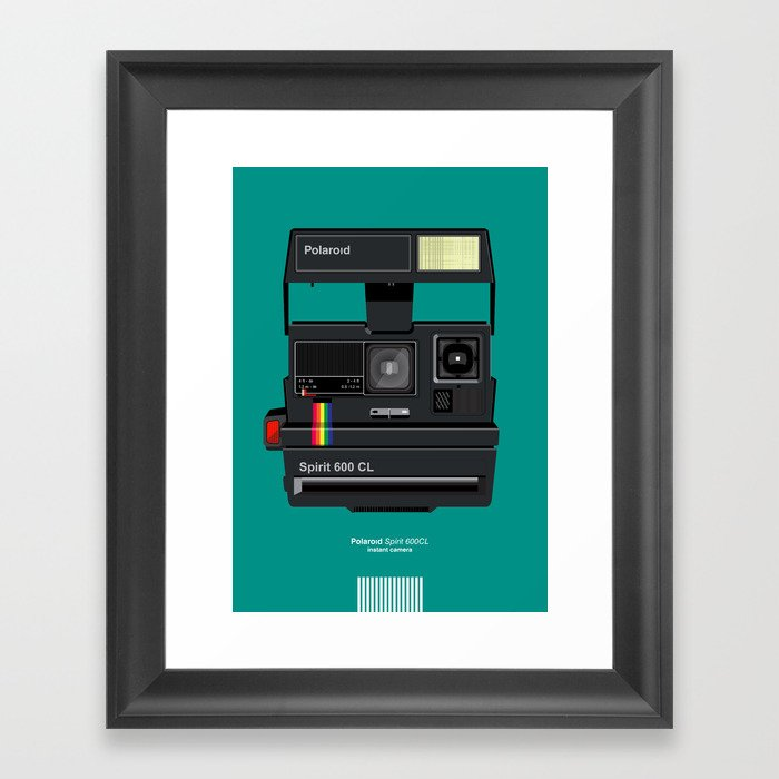 Polaroid II Framed Art Print