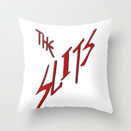 The Slits Throw Pillow