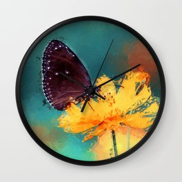 Bytterfly Effect Wall Clock