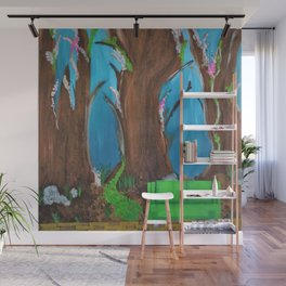 Fairy, Fairies. Abstract. Original Painting. Forest. Fantasy Forest. Fantasy. Jodilynpaintings. Wall Mural