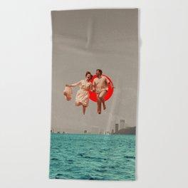 Don't Look Back Beach Towel