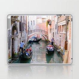 Exploring Venice by Gondola Laptop & iPad Skin