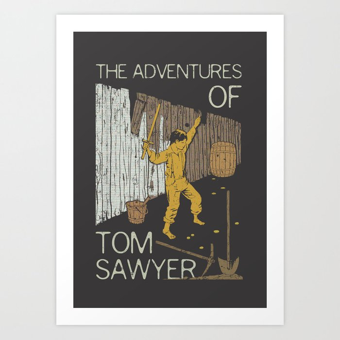 Books Collection: Tom Sawyer Art Print