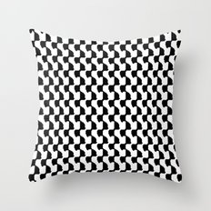 pixelwarp Throw Pillow