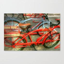 New Belgium Bikes Canvas Print