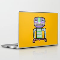 pee wee Laptop & iPad Skins featuring I want to pee! by Rudolf Brancovsky