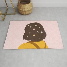 The Flower lady Rug